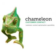 Chameleon Customer Contact Business Logo