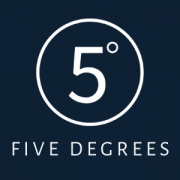 Five Degrees Business Logo