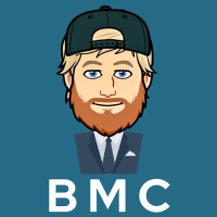 Bearded Man Consulting Business Logo
